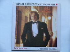 RICHARD CLAYDERMAN En concert Coup de coeur DEL 5 700054/055