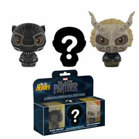 Funko Pint Size Heroes Vinyl Figures - Black Panther - 3-PACK - New
