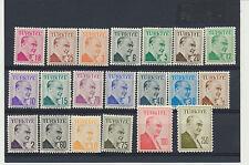 KEMAL ATATURK 1957 20 Value Mint NH Complete Set Turkey #1264 - 1283 $12.00 Valu