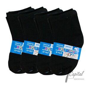 12 Pair NewBorn Black White Baby Kids Infant Toddler Ankle Soft Socks 0-8 Year