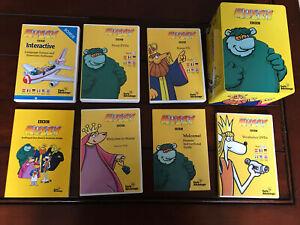 BBC Muzzy Early Advantage Level 1 Multilingual Language CD-ROM DVD CD Set BONUS