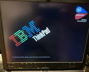 IBM ThinkPad X41 Tablet PC