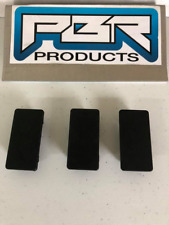 Lot of (3) PBR Products Rectangular Rocker Switch Blank Snap-In Hole Plug Cover