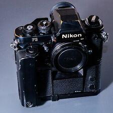 Nikon F3HP F3 35mm Film Camera MD-4 Motor Drive Film Tested SEE PICS!!!      500