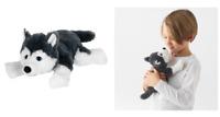 IKEA LIVLIG HUSKY SOFT TOY Dog Funny 26cm Puppy Christmas Birthday Present Child
