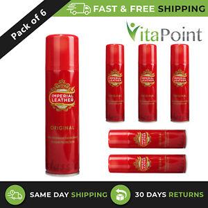 Imperial Leather Orignal 24H Anti-Perspirant Deodorant Spray 150ml / Pack Of 6