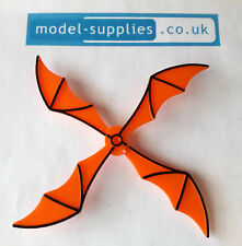 Corgi 925 Batcopter Reproduction Orange Plastic Rotor Blades