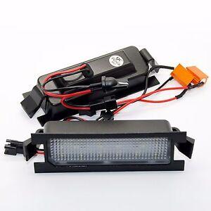 2x Hyundai i30 LED SMD Module License Plate Light Number Plate Lighting
