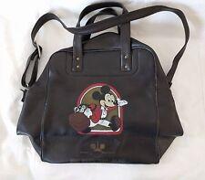 1980's Mickey Mouse Shoulder Bag Walt Disney Travel Company Vacation World Land