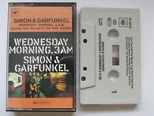 """SIMON & GARFUNKEL """"WEDNESDAY MORNING 3am"""" CASSETTE, 1968 CBS, TESTED."""