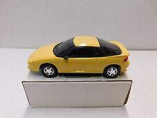 1991 GEO STORM GSI PROMO MODEL  YELLOW 1.24 NEW IN THE BOX