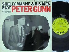 Shelly Manne ORIG UK LP Peter Gunn EX 1959 Contemporary LAC12193 MONO Jazz