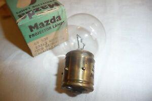 Microfilm microfiche reader realer bulb lamp MAZDA 6v 50w BA21S 4 PIN N&L  37 Nu