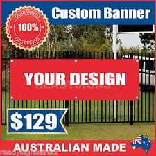 Custom Outdoor Vinyl Banner Sign - 3600mm x 900mm - Australian Made