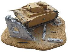 RESIN Schnell - Bausatz Diorama Wüsten-Ruine Klein für 1:72 (03) **NEU**