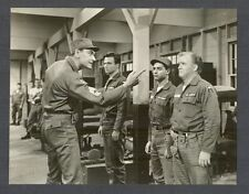 SAL MINEO + GARY CROSBY IN THE ARMY - MINEO STARRED IN REBEL WITHOUT A CAUSE