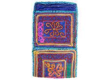 antike afghan Nomaden gestickte Geldbeutel beutel bag Portemonnaie Geldbörse N21