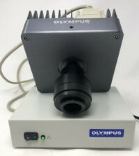 Olympus Microscope Camera Magnafire with Optronics Power Supply and Adapter