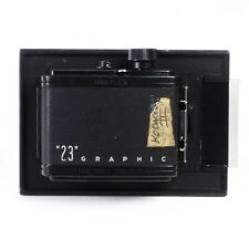 :Graflex 23 Graphic 120 6x9 Medium Format Roll Film Holder for 4x5 Large Format