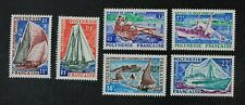 CKStamps: France Stamps Collection French Polynesia Scott#217-222 Mint H OG
