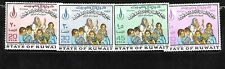 KUWAIT Sc 401-4 NH issue of 1968 - REFUGEES