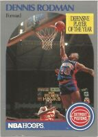 Dennis Rodman Hoops 1990/91 NBA Basketball Card #109