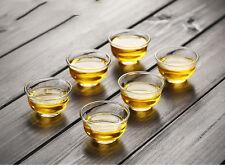 30ml 1fl.oz Small Size Heat Resisted Clear Glass Tea Cup Gongfu Tea Mug