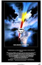 SUPERMAN: THE MOVIE Movie POSTER 11x17 Christopher Reeve Margot Kidder Marlon