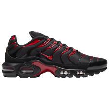 Brand New Men's Nike Air Max Plus Athletic Training Sneakers | Black & Red