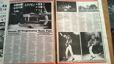 LED ZEPPELIN 'Knebworth 79 ' review UK ARTICLE / clipping