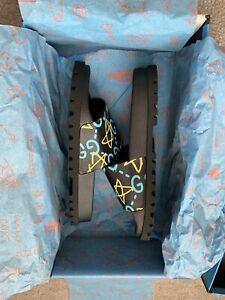 Authentic Gucci Ghost Slides Flip Flops Size 7 = US Mens 8 = 26cm