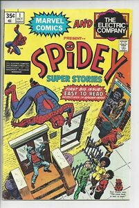 Spidey Super Stories #1 (F) 7.0, The Electric Company & Marvel,1974
