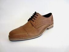 Maverick Mens  A2R119 Tan Lace Up Leather Shoe (R8A)