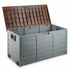 Giantz 290L Outdoor Weatherproof Storage Box - Brown