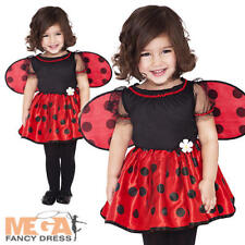 Ladybug + Wings Age 1-2 Girls Fancy Dress Animal Insect Book Week Childs Costume