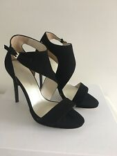 Karen Millen Black Suede womens shoes size 5 new And In Box