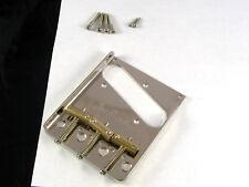"Joe Barden American Standard Tele Bridge Nickel 2 1/16"" Compensated Tb 5141-001"