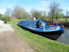 Hiring out a narrow boat not for sale