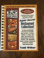 NEW Top Secret Recipes SUPER SECRET RESTAURANT COLLECTION by Todd Willbur