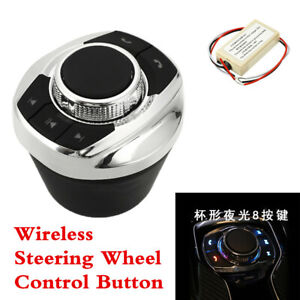Wireless Car Steering Wheel 8-Key Button Control For Android DVD GPS Stereo