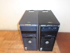 Lot Of 2 DELL OPTIPLEX 745 / GX620 DCSM Pentium D PCs w/2.8 GHz 1 GB Ram DVDRW