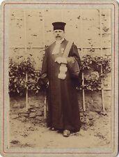 Portrait d'un homme en tenue Avocat ? Vintage citrate 21 juillet 1907