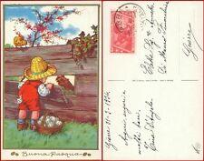 Bertiglia cartolina Buona Pasqua