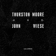 "THURSTON MOORE and JOHN WIESE ""Live at MOCA"" 7"" Sonic Youth Sissy Spacek"