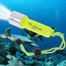 50000LM Underwater 50M T6 LED Diving Flashlight Torch Lamp Waterproof Light  I