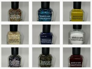 Deborah Lippmann Nail Polish Lacquer Top Coat - You Choose Color - 6 New Colors