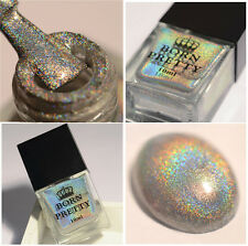 10ml BORN PRETTY Nail Art Polish Holographic Glitter High Ingredients H002 Tips
