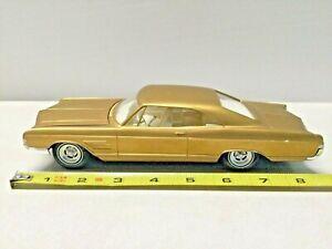 1965 Buick Wildcat Hardtop Model Kit Promo Car Unpainted Interior 4 Screw Body!