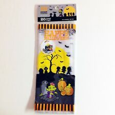 Happy Halloween Sweet Creations Treat Bags - Lot of 2 pkgs; 20 Bags Each
