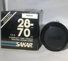Sakar 28-70 F3.5 Macro Zoom Lens Compact One Touch for Nikon Cameras